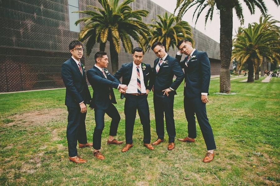 Blue Wedding Suit Black Shoes