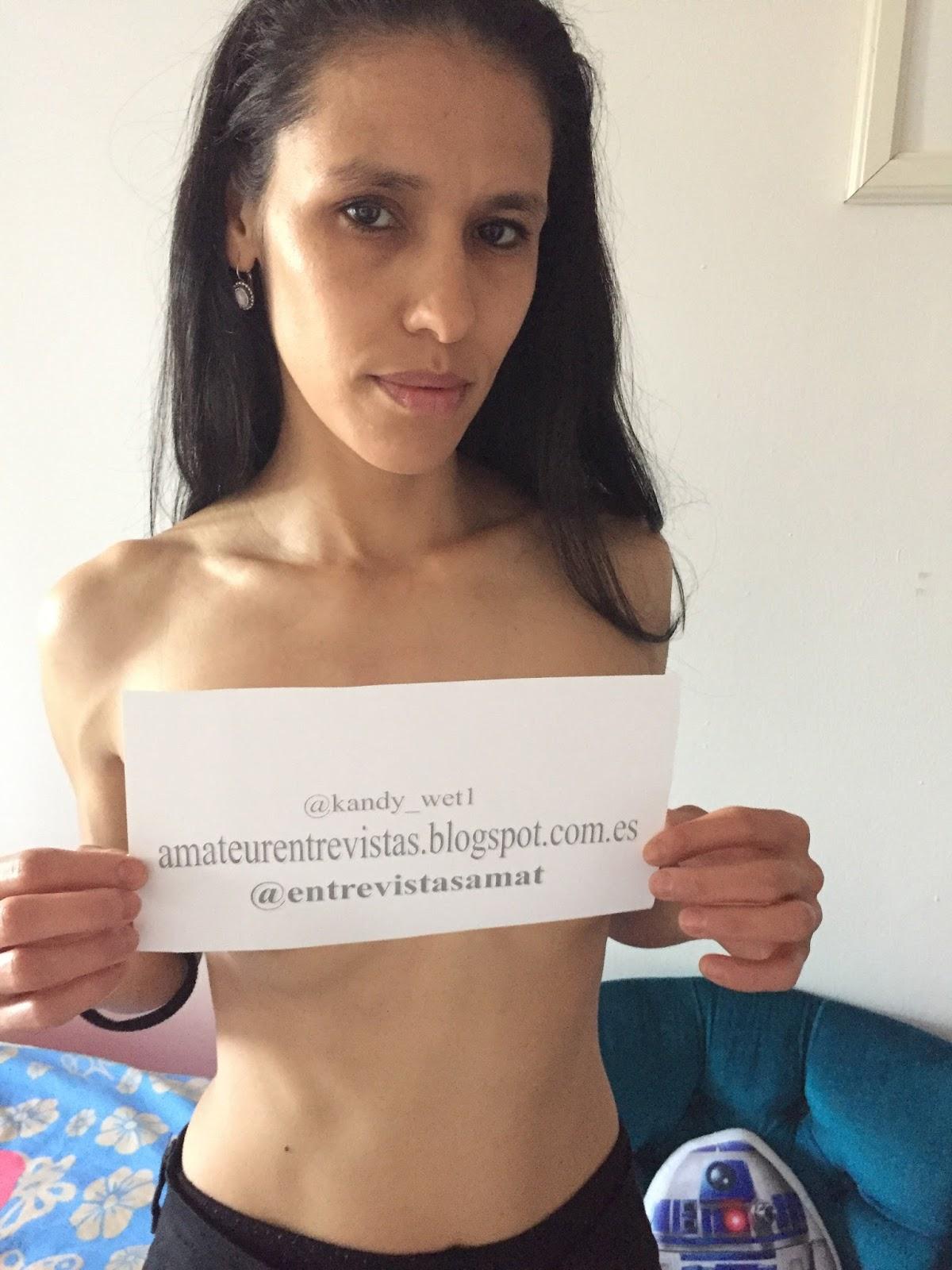 Actriz Porno Fakings entrevistas amateur: kandy wet