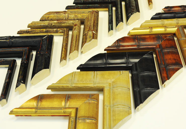 Ben Franklin Crafts and Frame Shop: Moulding of the Month: Bamboo