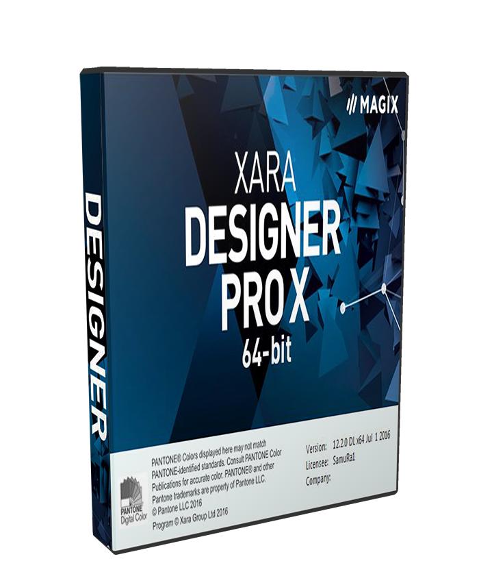 Xara Designer Pro X365 12.2.0.45774 Portable poster box cover