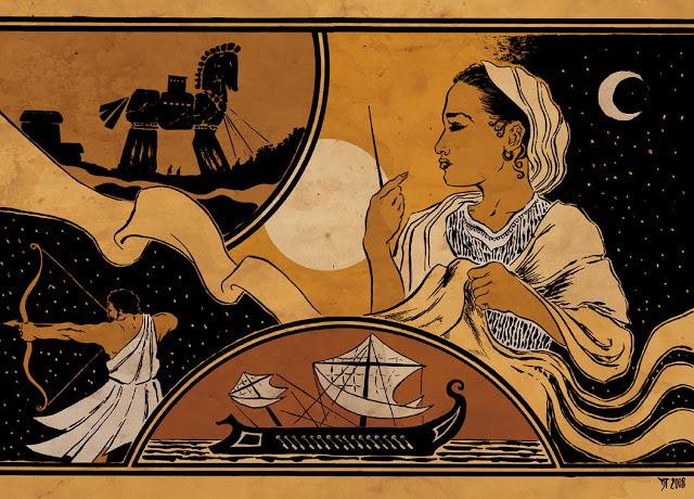 Το άγνωστο και τραγικό τέλος του Οδυσσέα που δεν έχει γραφτεί στην Οδύσσεια…