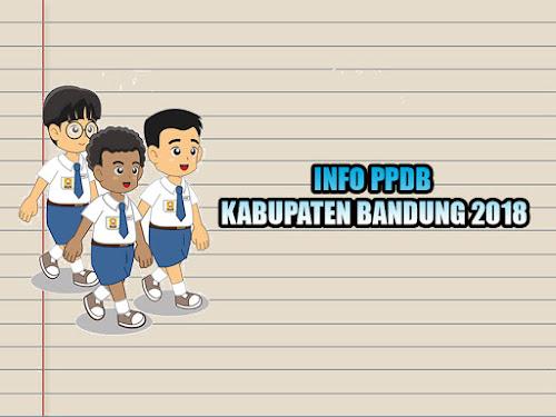 Jalur afirmasi dan prestasi PPDB Kabupaten Bandung 2018