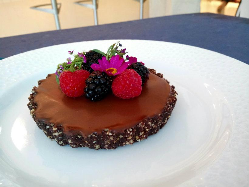 Raw Chocolate Tart