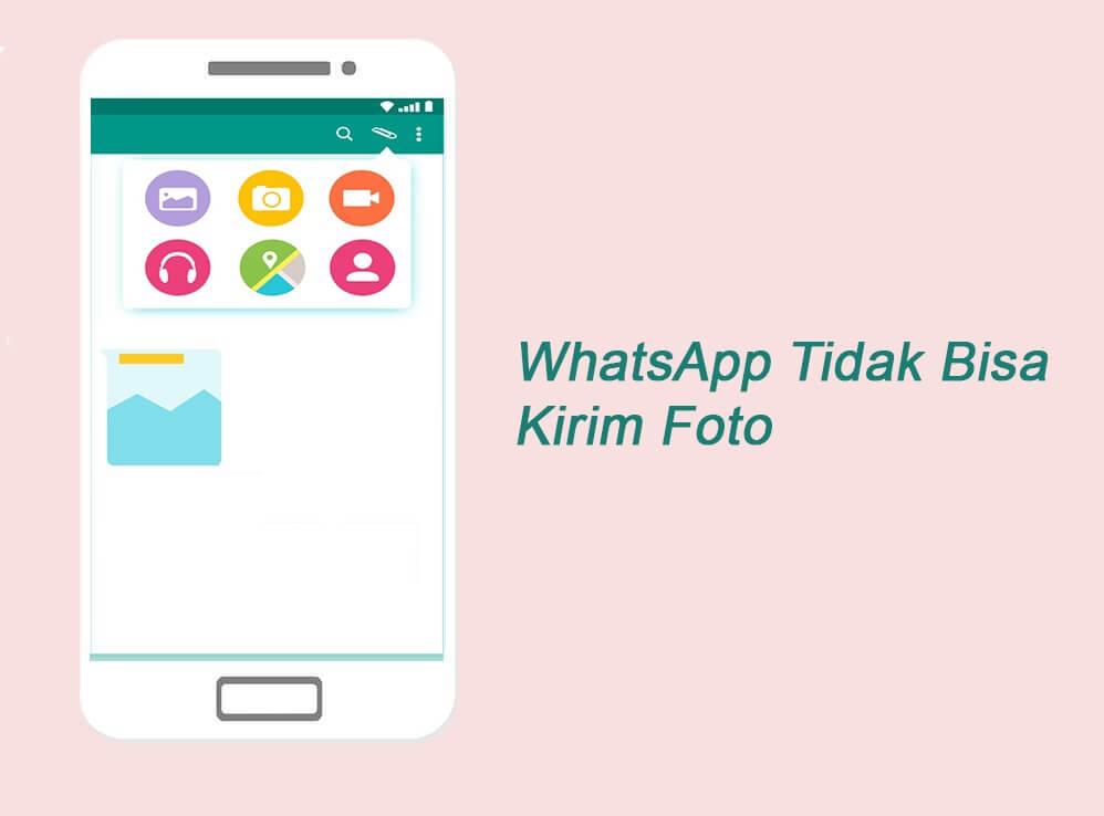 Cara Mengatasi WhatsApp Tidak Bisa Mengirim Foto Dan Gambar