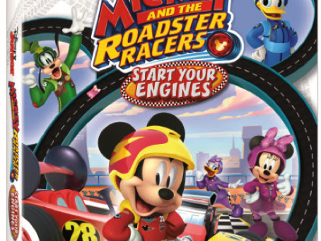 Mickey & the Roadster Racers DVD + #Giveaway #MBPBacktoSchool