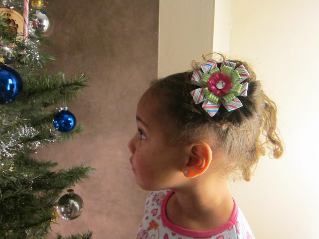 kyla, hair bow, model, glam, kids hair bow, for sale