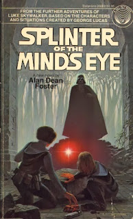 splinter of the Mind's Eye book cover