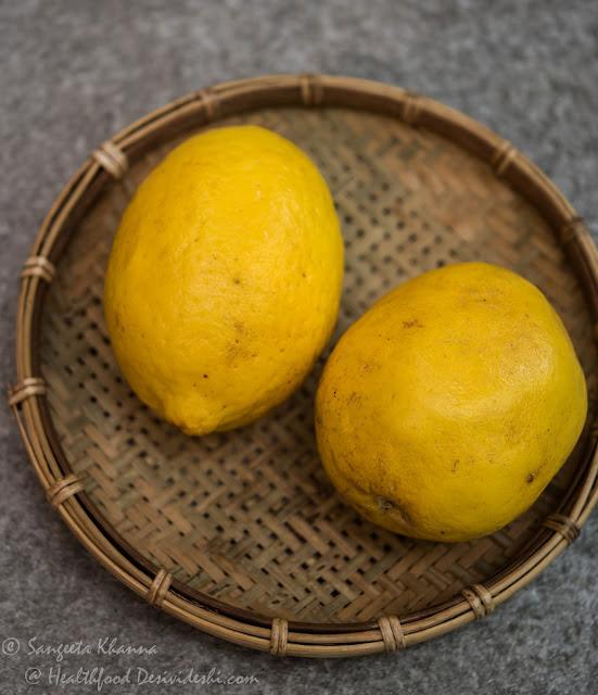 Kumaoni lemons (galgal)