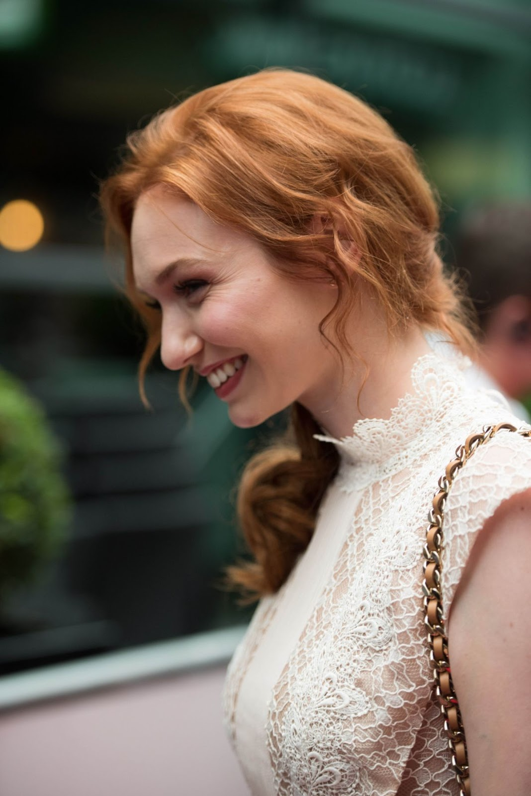 Full 4K Photos of 'Poldark' actress Eleanor Tomlinson At Poldark Press Screening In Cornwall