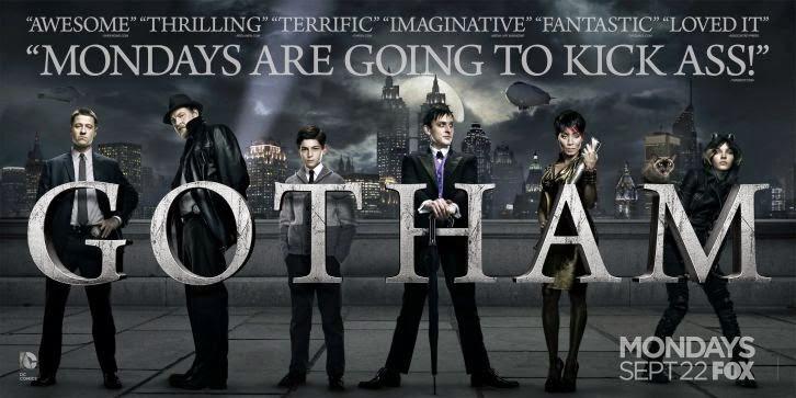 migliori serie tv, serie tv preferite, gotham, batman