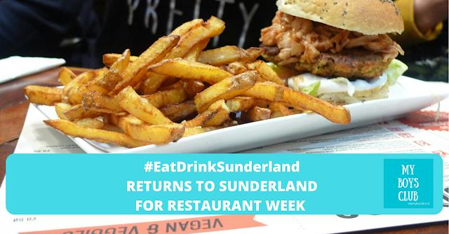 #EatDrinkSunderland Returns to Sunderland For Restaurant Week