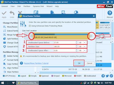 Convert ổ cứng GPT/MBR, gộp, xoá, chia phân vùng ổ cứng WinPE