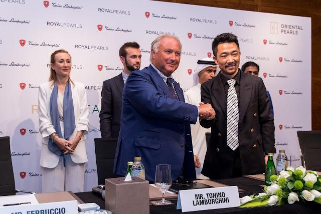 Oriental Pearls and Tonino Lamborghini sign multi-million dollar deal