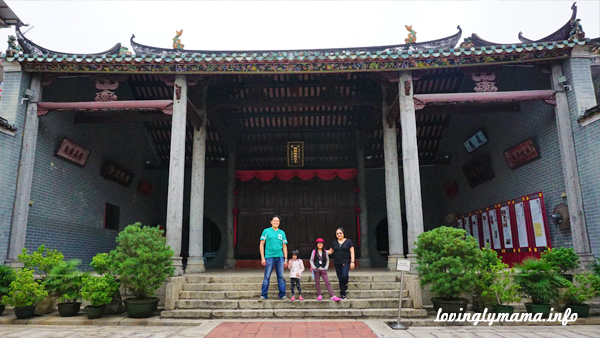 Tang Ancestral Hall in Ping Shan, Hong Kong. - travel with kids