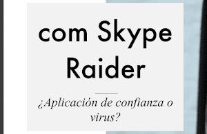 ¿Qué significa pname com SKYPE Raider?