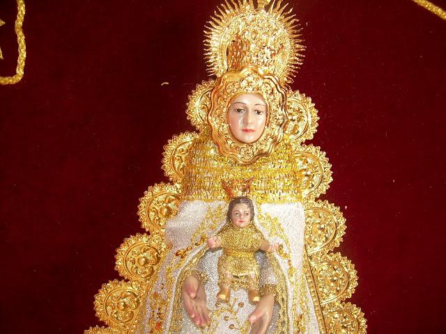 Bordados Juana Maria: Banderin Virgen del Rocio