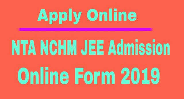 NTA NCHM JEE Admission