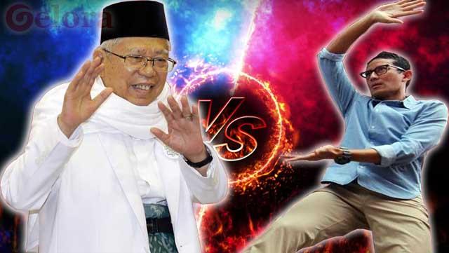Takut Jantungan, Sandi Tak akan Bikin Kejutan ke Ma'ruf Amin di Debat