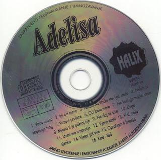 Adelisa Hodzic -Diskografija 1996_z_cd