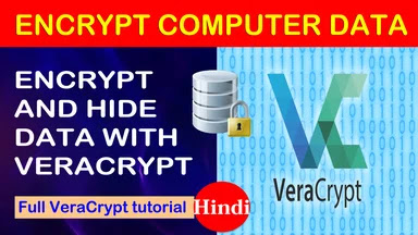 CREATE ENCRYPTED VOLUME WITH VERACYPT | veracrypt se hidden volume kese create kare