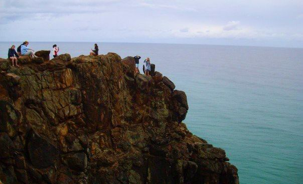 indian head cliff fraser island