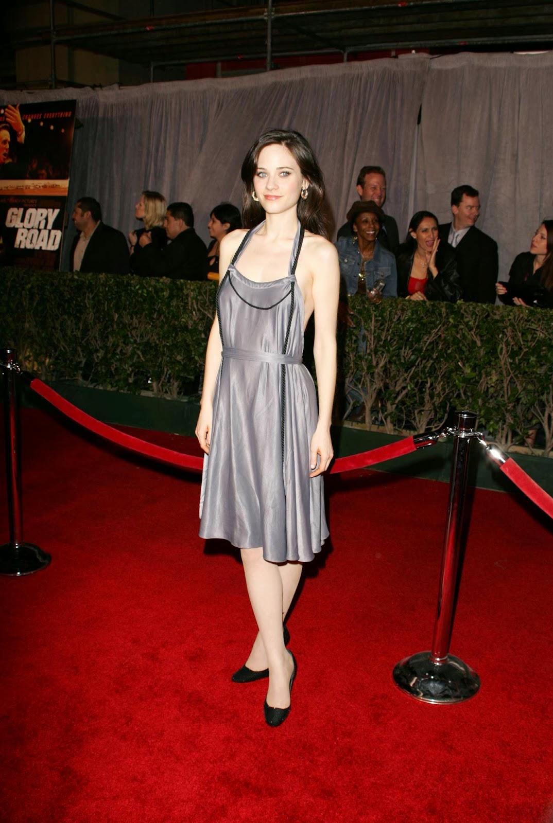 Red Carpet Dresses Zooey Deschanel Quot Glory Road Quot World