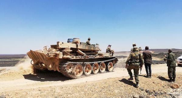 وحدات الجيش توسع نطاق سيطرتها في عمق الجروف الصخرية بتلول الصفا