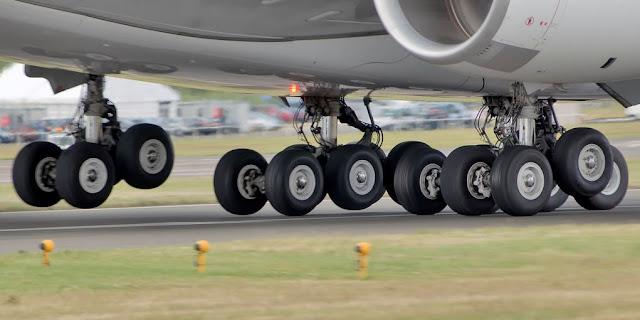 Airbus A380 iniş takımı, tekerlekler
