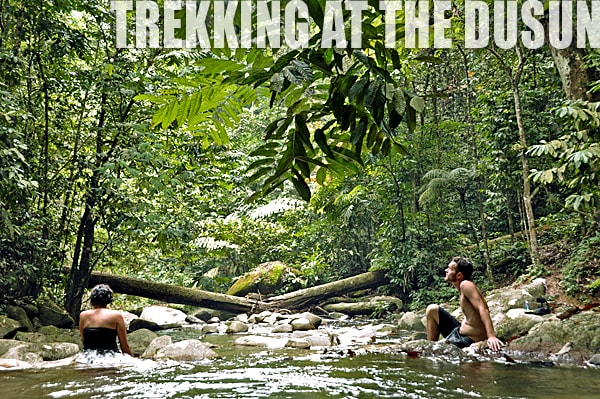 Trekking at The Dusun
