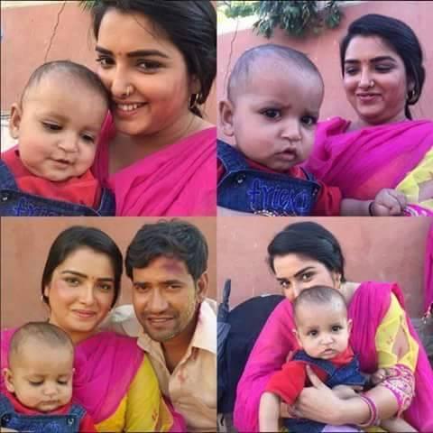 Dinesh Lal Yadav 'Nirahua', Amrapali Dubey Nirahua Chalal Sasural 2 Bhojpuri Movie Shooting stills, Nirahua Chalal Sasural 2 Bhandar Bhojpuri Movie