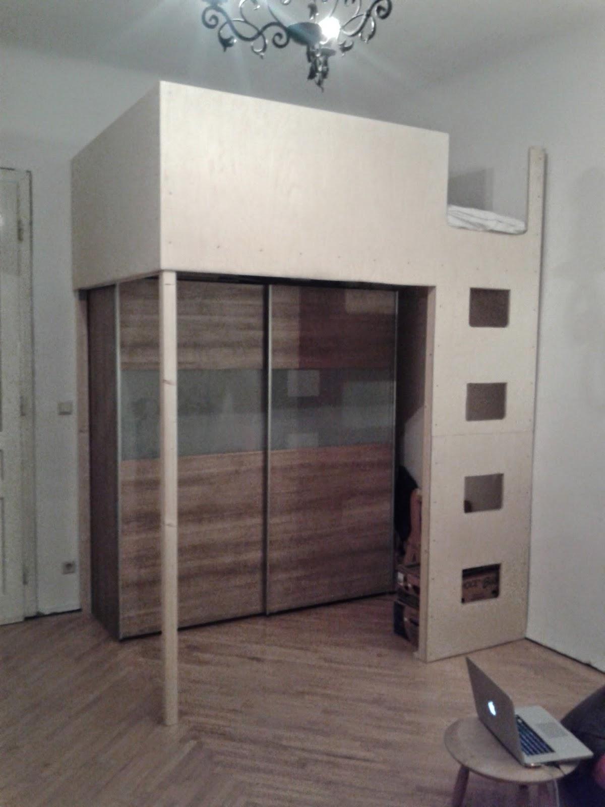 fuck yeah basteln hochbett. Black Bedroom Furniture Sets. Home Design Ideas