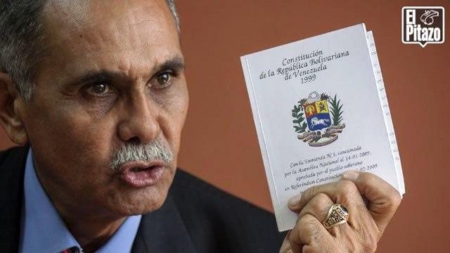 """Eustoquio Contreras: """"Los enemigos de la Constitución son los que Chávez dejó encargados de protegerla"""""""