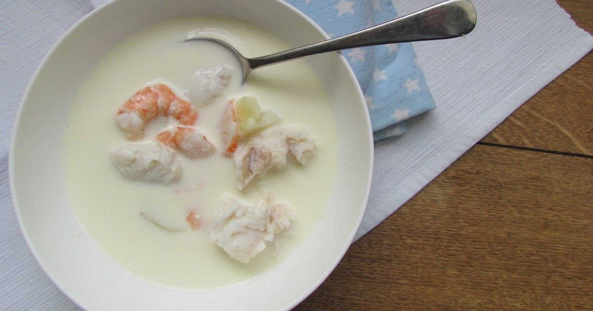 Mumandsons Fish Soup With Mayonnaise