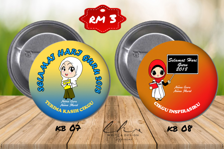 button badge, keychain badge, tempahan button badge, button badge murah, design printing, home printcess,