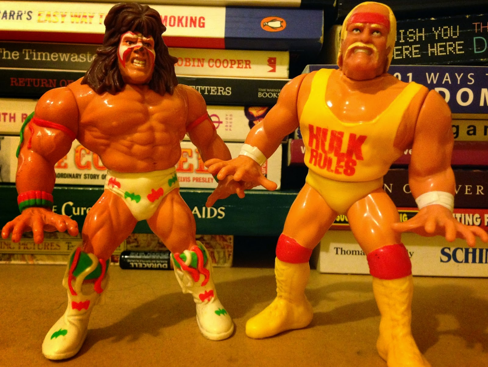 WWF / WWE - Hasbro Wrestling Figures - 1990-1991: Hulk Hogan vs. Ultimate Warrior