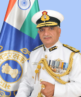 DG ICG Rajendra Singh on maiden visit to Mumbai