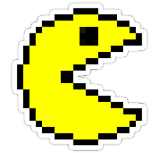 Pac-Man Sticker