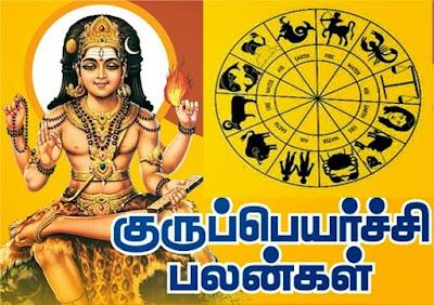 குரு பெயர்ச்சி 2016  - 12 ராசிகளுக்கும் பலன்கள்