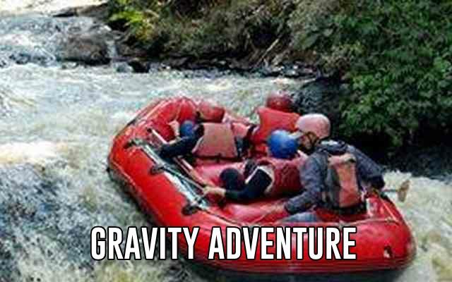 rafting situ cileunca pangalengan bersama gravity adventure