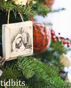 DIY First Christmas Ornament  by Tidbits