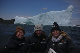 Warm Guests on an Iceberg Tour