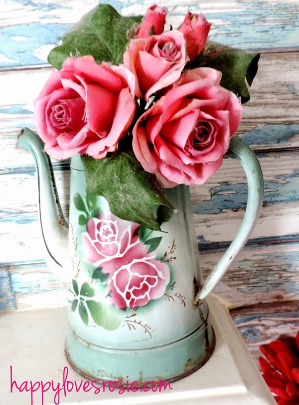 enamel rose bouquet and peeling planks mineral wallpaper