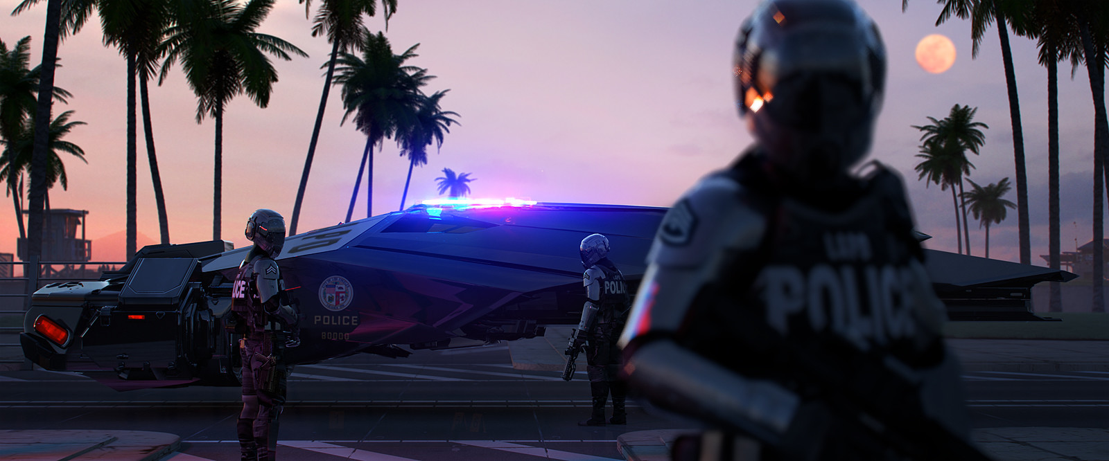 Images: A Collection Of Sci-Fi Concept Art From Anthony Eftekhari