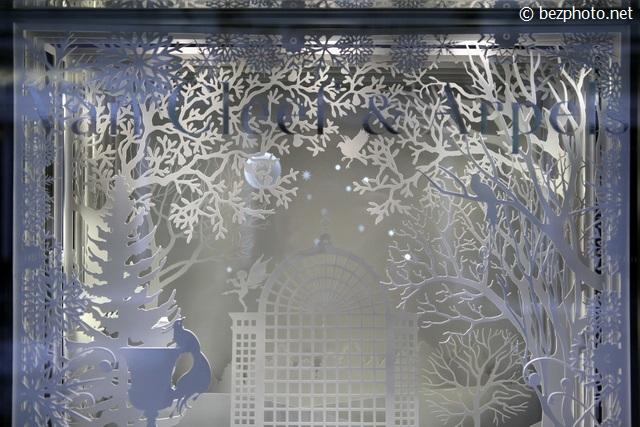 новогодние витрины 2016