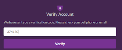 Create and Verify Khalti account-- Verify number