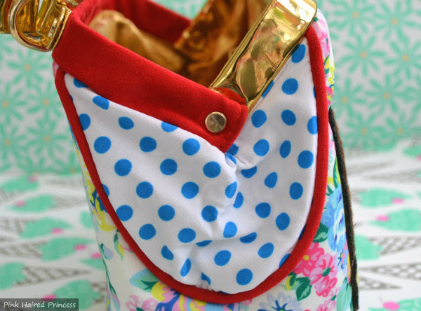 irregular choice disney chip n dale bag polka dot side gussets