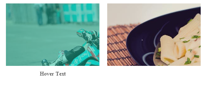 Opacity with Background Effect on hover the image using Css3