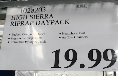 Deal for the High Sierra Riprap Lifestyle Backpack at Costco