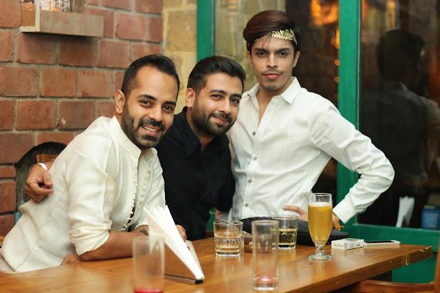 (L-R) Samrat Baneerje, Manu Mahalwar, Aleem Siddique