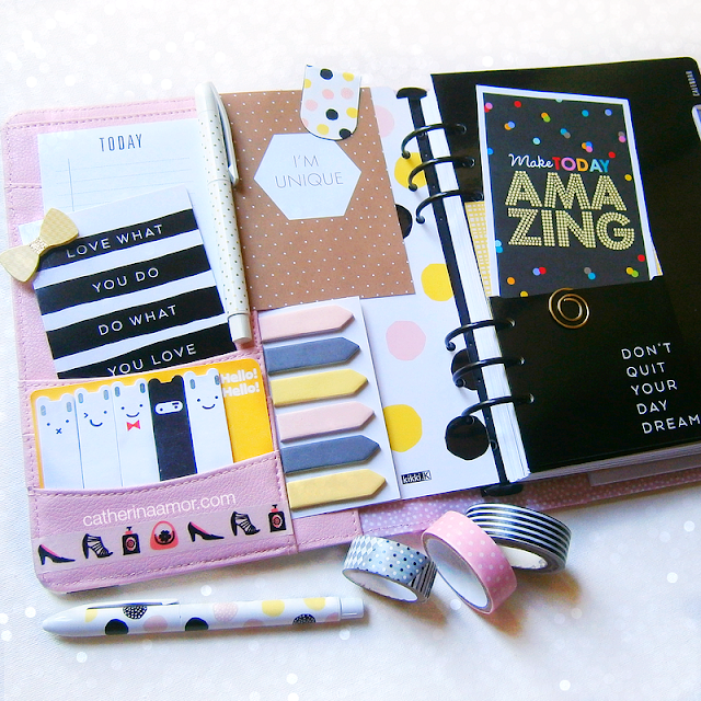 Kikki K Why Not Planner Pockets